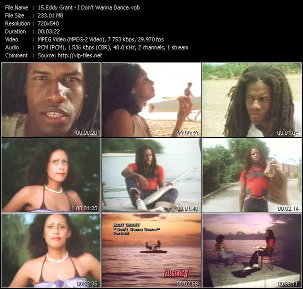 Eddy Grant video screenshot