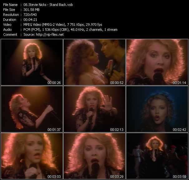 Stevie Nicks video screenshot