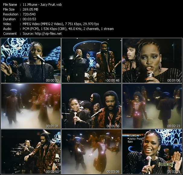 Mtume video screenshot