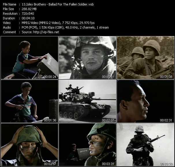 Isley Brothers video screenshot