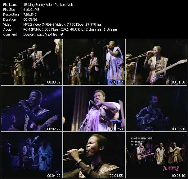 King Sunny Ade video screenshot