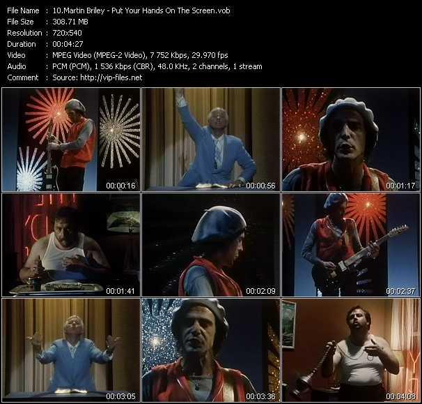 Martin Briley video screenshot