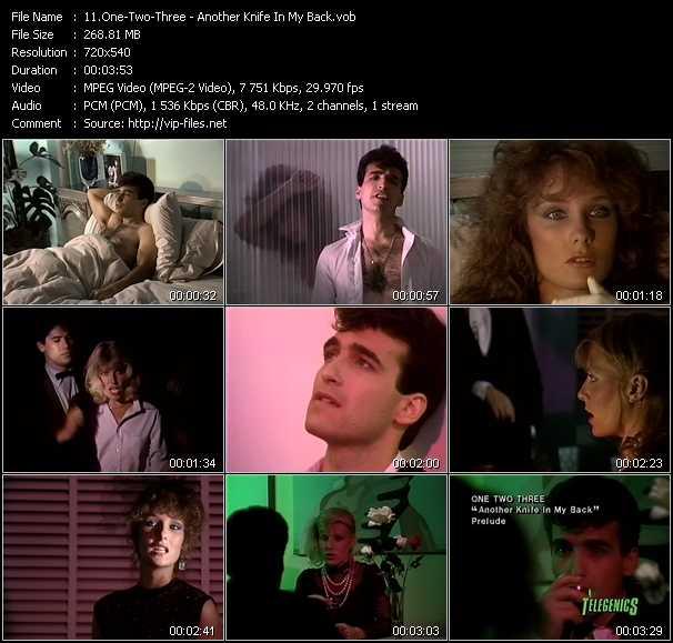 One-Two-Three video screenshot