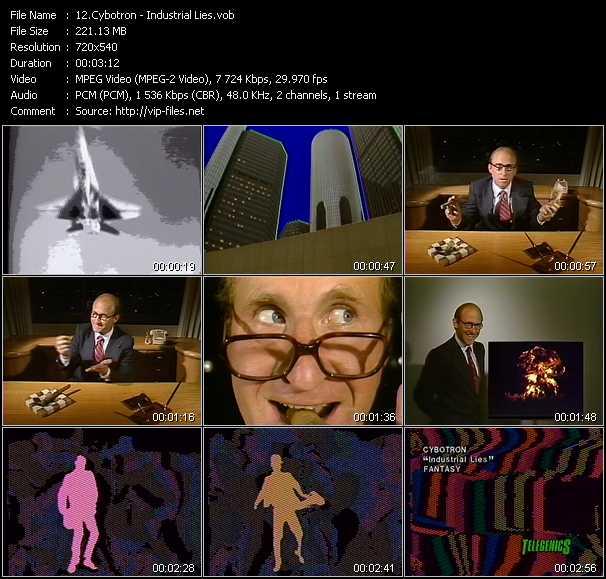 Cybotron video screenshot