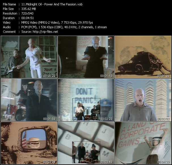 Midnight Oil video screenshot
