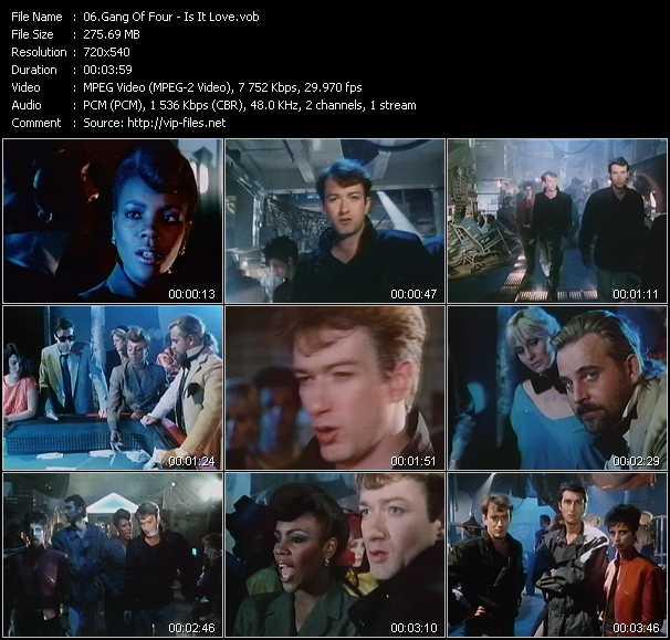 Gang Of Four video screenshot