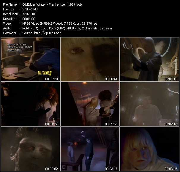 Edgar Winter video screenshot