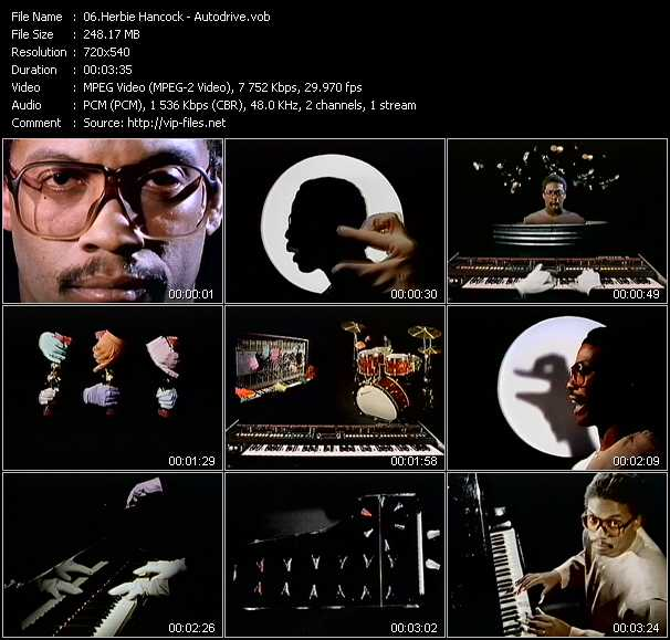 Herbie Hancock video screenshot