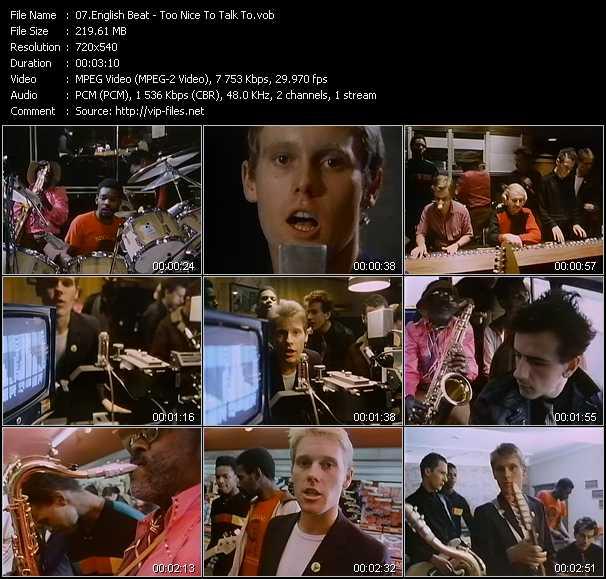 English Beat (Beat) video screenshot
