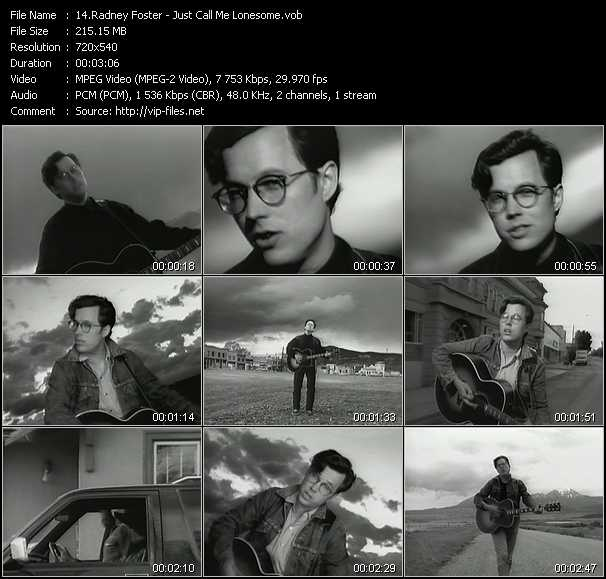 Radney Foster video screenshot