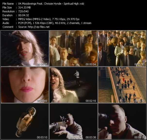 Moodswings Feat. Chrissie Hynde video screenshot