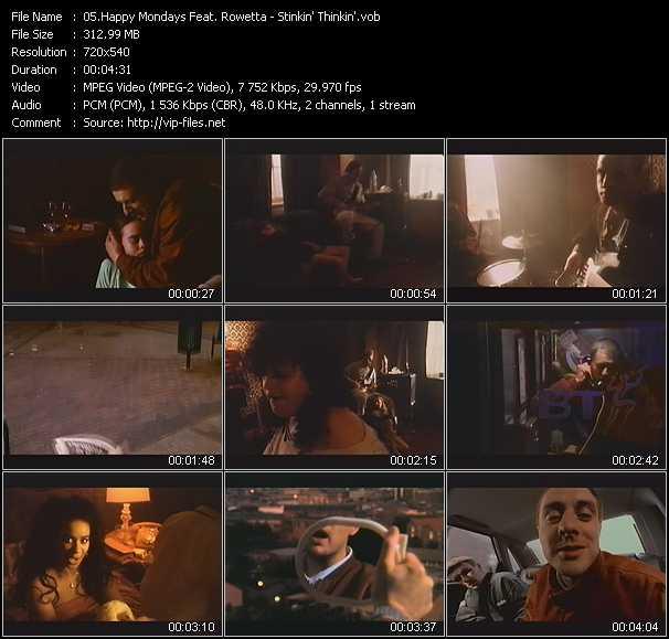 Happy Mondays Feat. Rowetta video screenshot