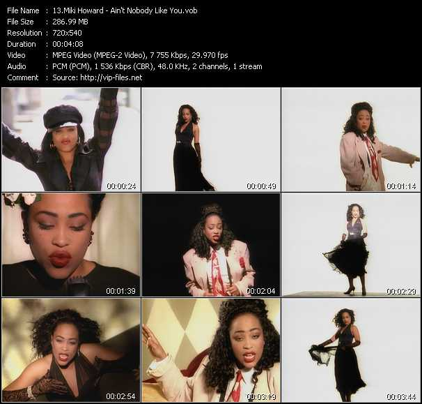 Miki Howard video screenshot