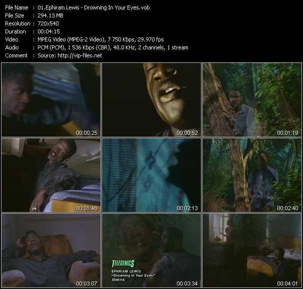 Ephiram Lewis video screenshot