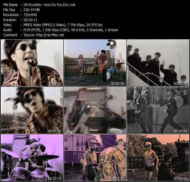 video How Do You Do! screen