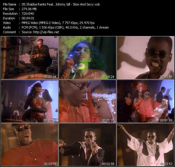 Shabba Ranks Feat. Johnny Gill video screenshot