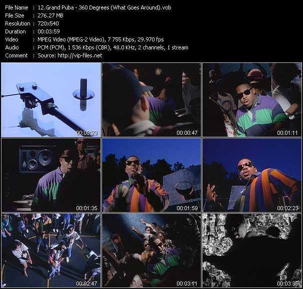 Grand Puba video screenshot