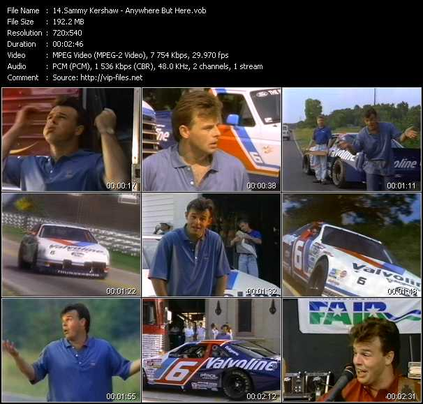 Sammy Kershaw video screenshot