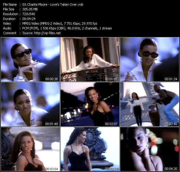 Chante Moore video screenshot