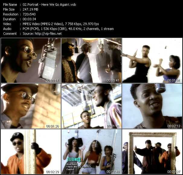 Portrait video screenshot