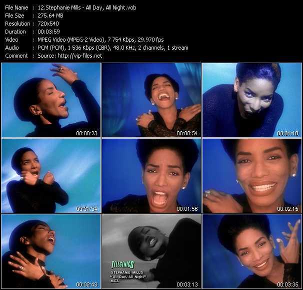 Stephanie Mills video screenshot