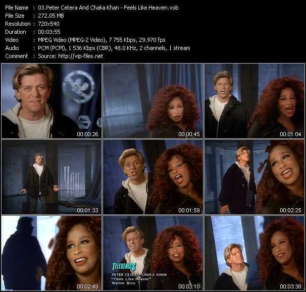 Peter Cetera And Chaka Khan video screenshot