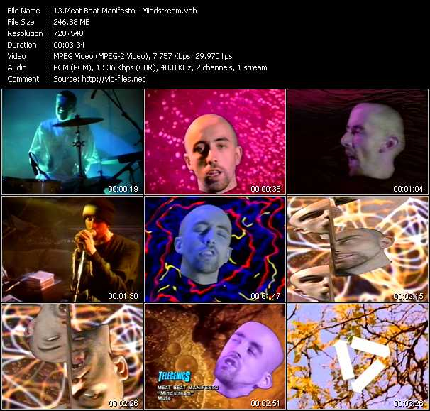 Meat Beat Manifesto video screenshot