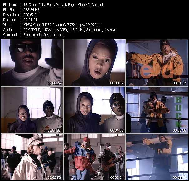 Grand Puba Feat. Mary J. Blige video screenshot