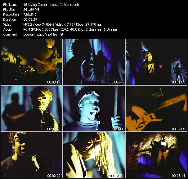 Living Colour video screenshot