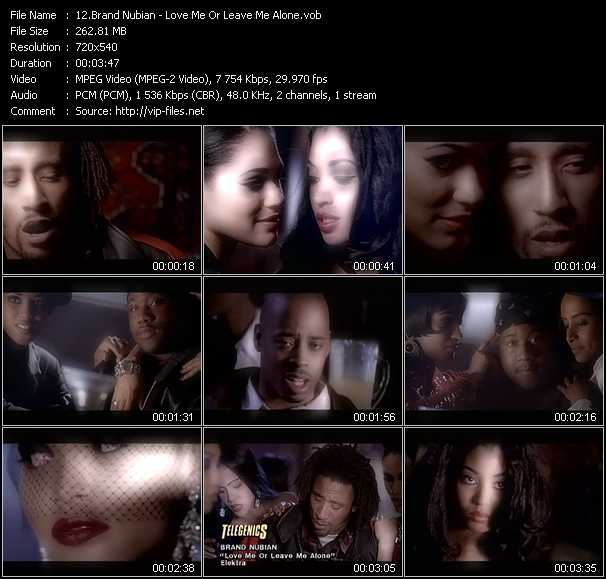 Brand Nubian video screenshot
