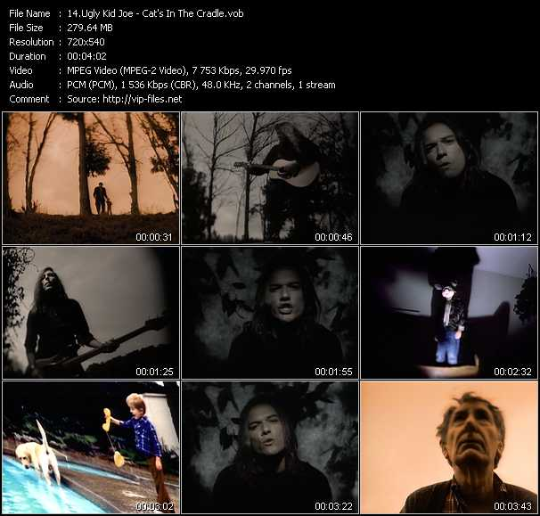 Ugly Kid Joe video screenshot