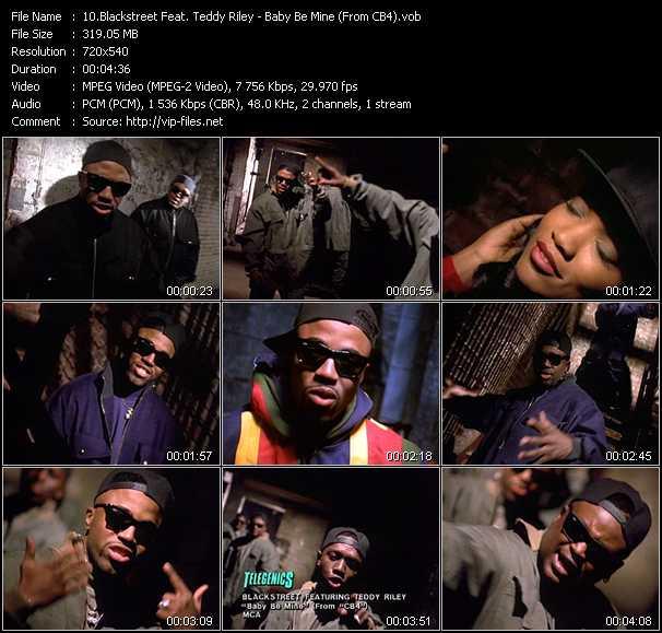Blackstreet Feat. Teddy Riley video screenshot