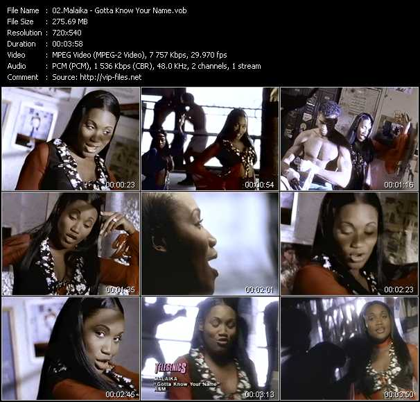 Malaika video screenshot