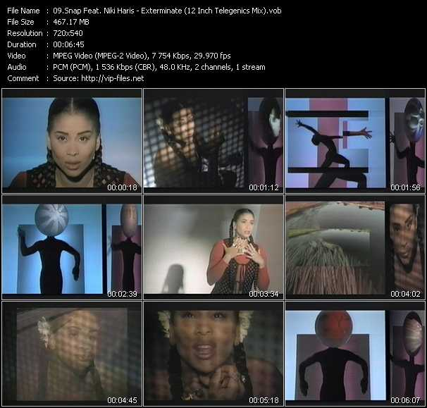 Snap! Feat. Niki Haris video screenshot