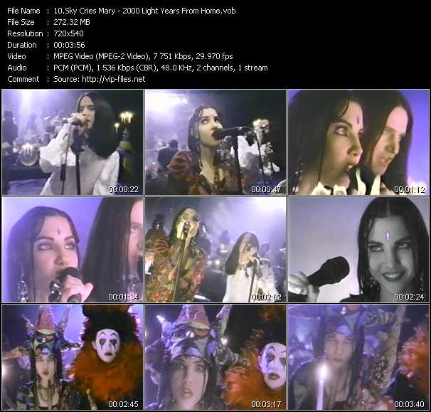Sky Cries Mary video screenshot