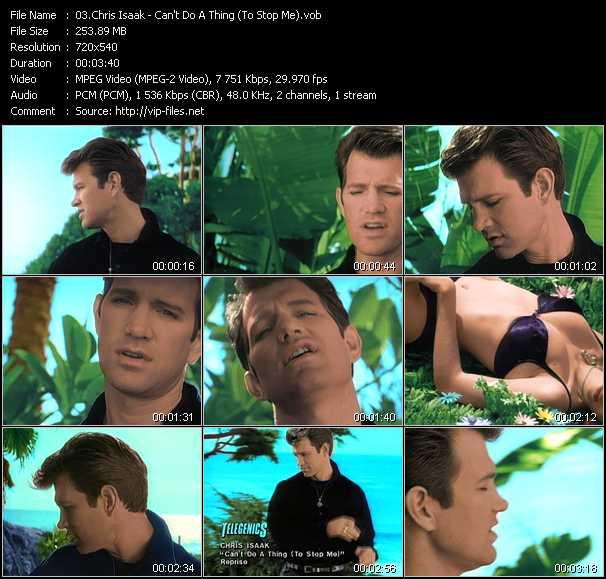 Chris Isaak video screenshot