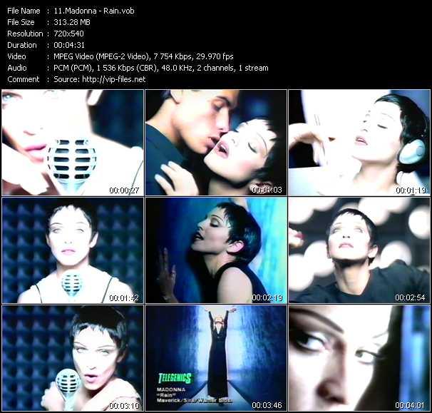 video Rain screen