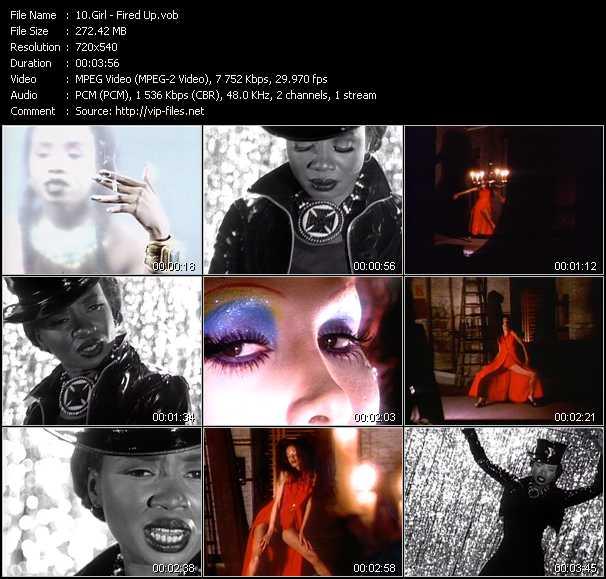 Girl video screenshot