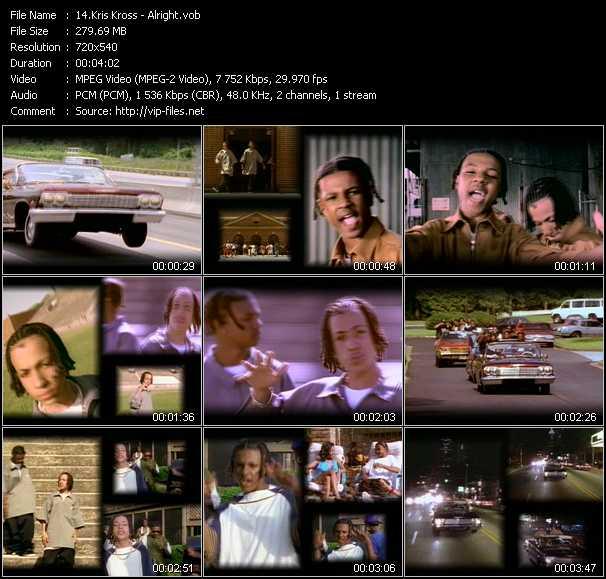 Kris Kross video screenshot
