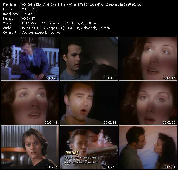 video When I Fall In Love (From Sleepless In Seattle) screen