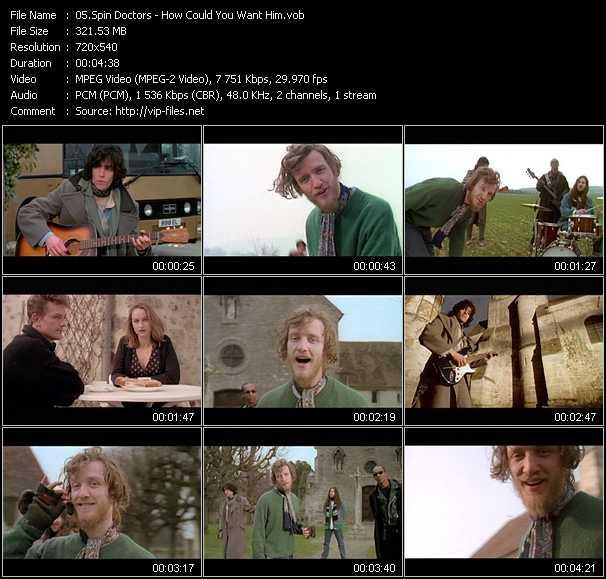Spin Doctors video screenshot