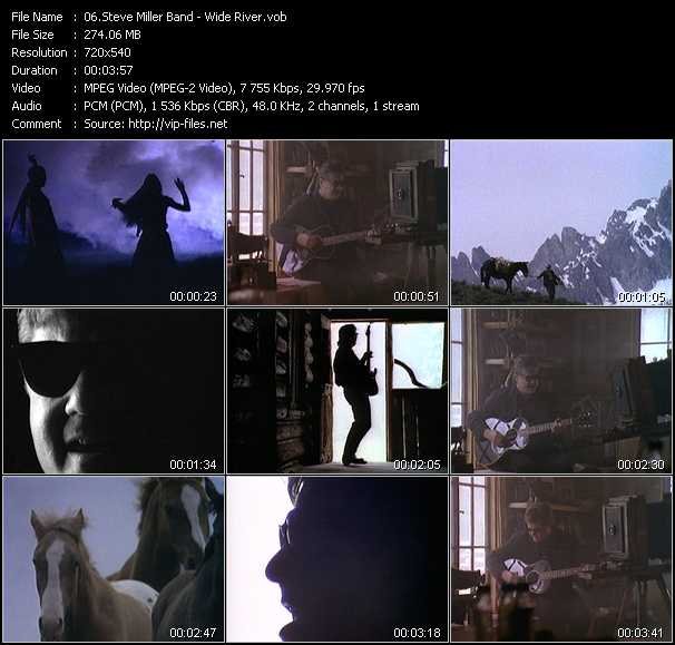 Steve Miller Band video screenshot