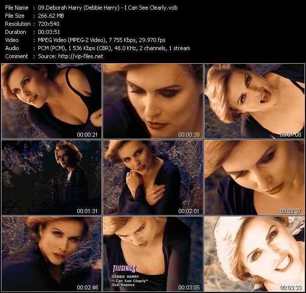 Deborah Harry (Debbie Harry) video screenshot