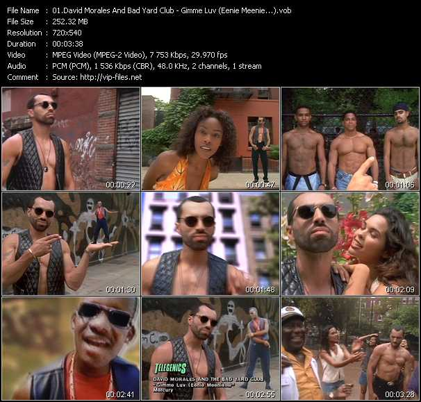 David Morales And Bad Yard Club video screenshot