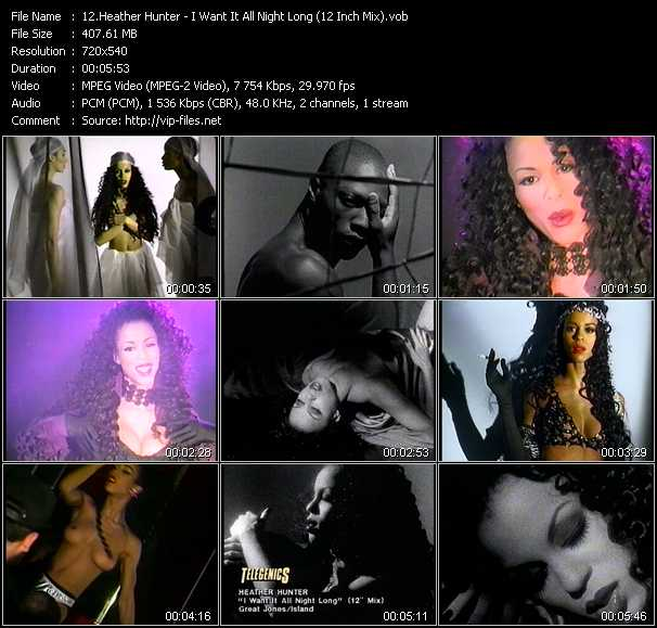 Heather Hunter video screenshot