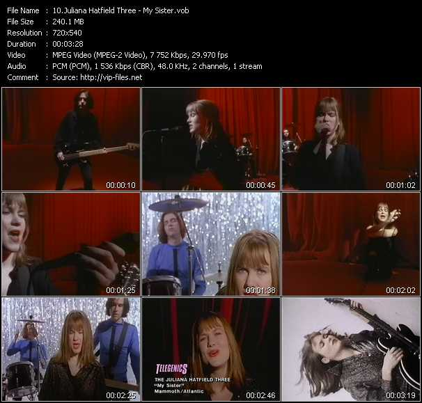 Juliana Hatfield Three video screenshot