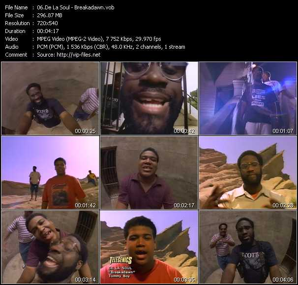 De La Soul video screenshot