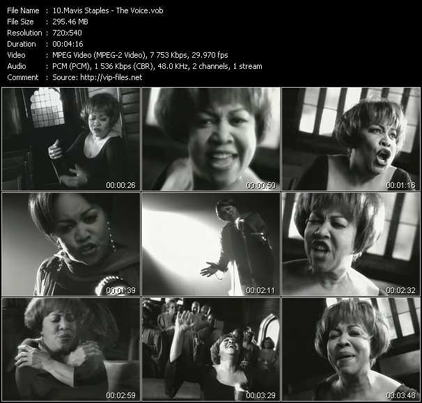 Mavis Staples video screenshot
