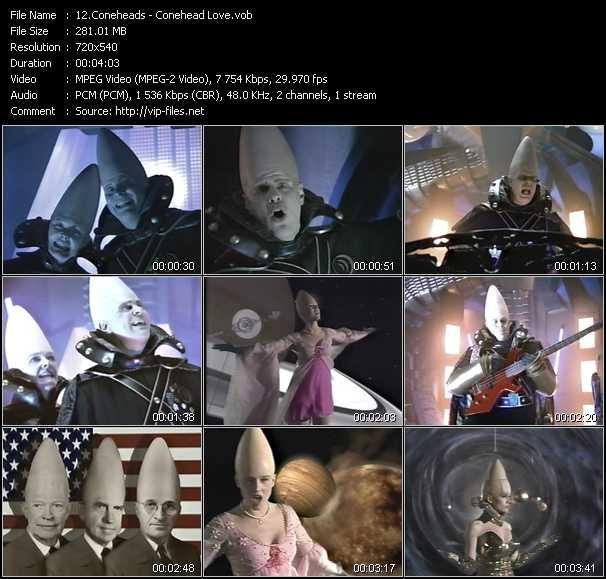 Coneheads video screenshot