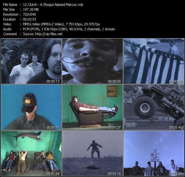 Clutch video screenshot